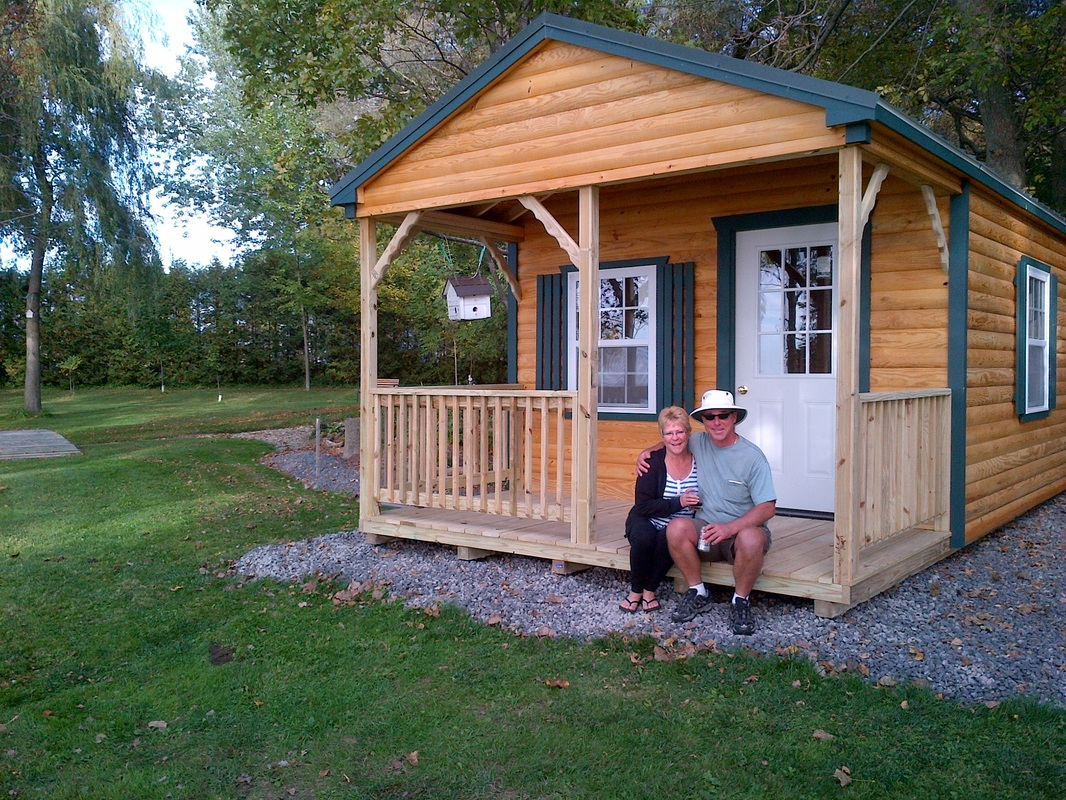 Cabin and bunkie photo gallery prefab cabins bunkies for Small modular cabins and cottages