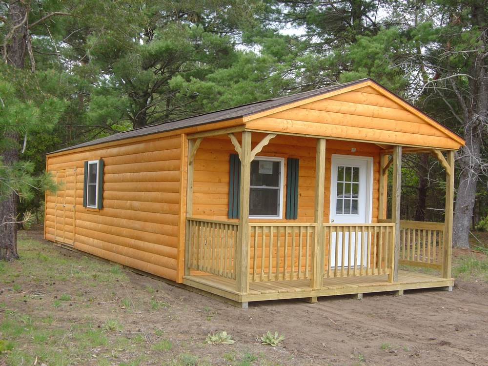 Cabin and bunkie photo gallery prefab cabins bunkies for Cabin and cottage kits